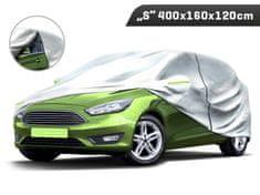 Carmotion Plachta na automobil veľkosť L, 400 x 160 x 120 cm, trojvrstvová s reflexnými prvkami, Carmotion