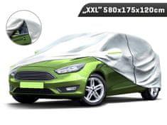 Carmotion Plachta na automobil veľkosť XXL, 580 x 175 x 120 cm, trojvrstvová s reflexnými prvkami, Carmotion