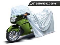 Carmotion Plachta na motocykel, veľkosť M, 200 x 90 x 100 cm, trojvrstvová s reflexnými prvkami, Carmotion