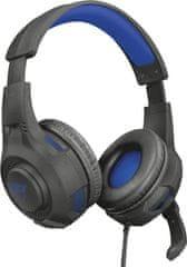Trust Gaming Trust GXT 307 Ravu (23250), čierna/modrá