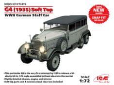 ICM G4 Soft Top (1935) German WWII Staff Car 1/72