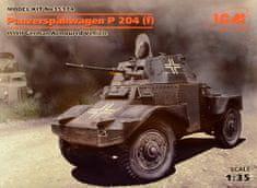ICM Panzerspähwagen P 204 (f) German Vehicle WWII 1/35