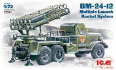 ICM BM-24-12 Launch Rocket System 1/72