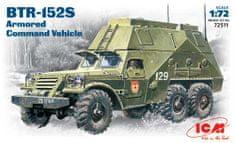ICM BTR-152S Armoured Command Vehicle 1/72
