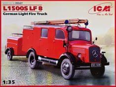 ICM L1500S LF 8 (German Light Fire Truck) 1/35