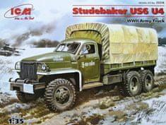 ICM Studebaker US6 U4 Army Truck WWII 1/35