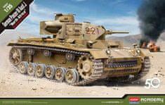 Academy German Panzer III Ausf.J North Africa 1/35
