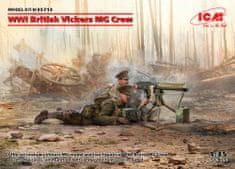 ICM British WWI Vickers MG Crew 1/35