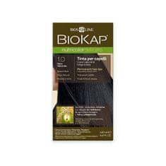 BioKap NUTRICOLOR DELICATO - farba na vlasy - 1.00 Čierna prírodná 140 ml