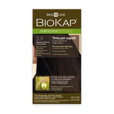 BioKap NUTRICOLOR DELICATO - farba na vlasy - 2.90 Gaštanovo čokoládová tmavá 140 ml