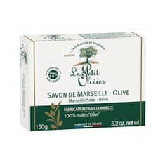 Le Petit Olivier Marseillské mydlo Oliva (Marseille Soap) 150 g