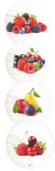 Makro Viečka zaváracie TO82 Ovocie mix IV biele, 10ks