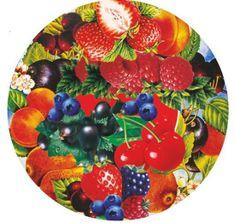Makro Viečka zaváracie TO66 Ovocie II, 10ks