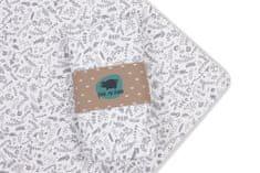 PINK no MORE Prestieradlo bavlna 120x60 cm