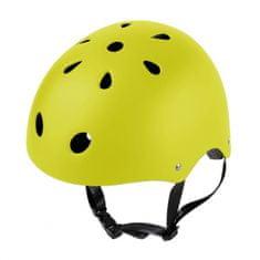 LAMPA Dětská cyklistická přilba California žlutá