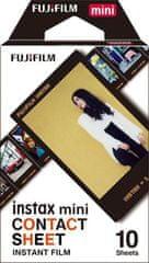 FujiFilm Instax Mini Film Contact (10 ks)