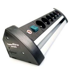 Brennenstuhl Prodlužovací kabel Office-Line 6-zásuvkový černý 3M