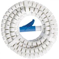 Brennenstuhl Spirálová ochrana na kabely - bílá Chránič