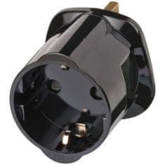 Brennenstuhl Cestovní adaptér / zástrčkový adaptér EU na Velkou Británii Adaptér