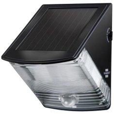 Brennenstuhl Solární LED nástěnné světlo s pohybovým PIR detektorem černé Solární 85lm