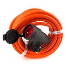 Brennenstuhl Prodlužovací kabel BREMAXX oranžový, IP44 10M