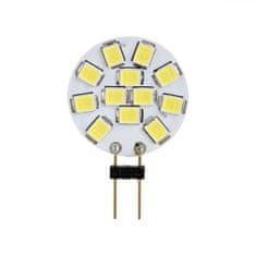 Tracon Electric LED žárovka 2W G4 - teplá bílá