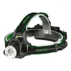 Tracon Electric Akumulátorová čelová LED lampa 5W