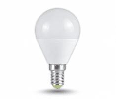 Tracon Electric LED žárovka koule E14 5W - teplá bílá 5 ks