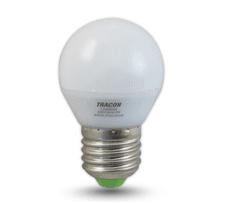 Tracon Electric LED žárovka E27 5W - teplá bílá 5 ks