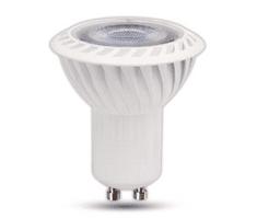 Tracon Electric LED žárovka COB GU10 5W - studená bílá