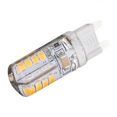 Tracon Electric LED žárovka 3W G9 se silikonovým pouzdrem - teplá bílá