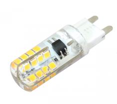 Tracon Electric LED žárovka 3W G9 se silikonovým pouzdrem - neutrální bílá