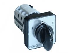Tracon Electric Reverzační vačkový přepínač 25A 48×48mm