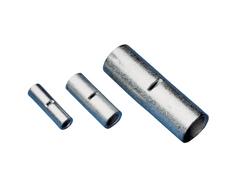 Tracon Electric Neizolovaná Cu lisovací spojka 16mm2 / L=21mm 10 ks