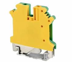 Tracon Electric Řadová svorka pro ochranný (PE) vodič 0,5-10mm2