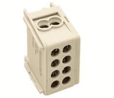Tracon Electric Rozvodná odbočná svorka šedá 2×16mm2 / 2×16mm2