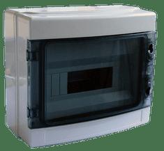 Tracon Electric Rozvodná skříň nadomítková plastová 300×260×140mm