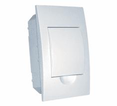 Tracon Electric Rozvodná skříň podomítková s bílými dvířky 115×200×60mm