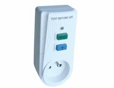 Tracon Electric Zásuvkový adaptér s proudovým chráničem