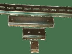 Tracon Electric Montážní DIN lišta perforovaná 35/7.5mm, l=1000mm