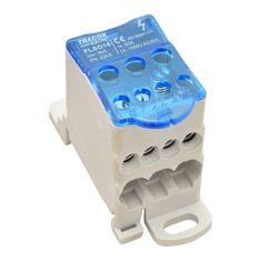 Tracon Electric Stoupací odbočná svorka, 400V AC, 80A, otevřená 3x16/4x10mm2