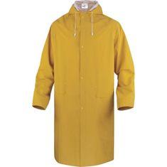 Delta Plus Nepromokavý plášť do deště MA305 žlutý L