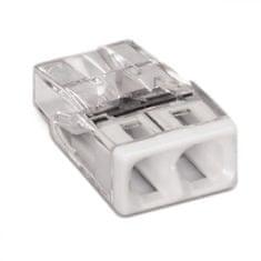 Wago Spojovací svorka bezšroubová - 2 vodičů 10x5,8x16,7mm 10 ks