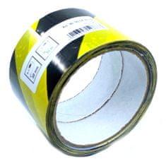 CIRET Páska výstražná 30m černo-žlutá 60mm