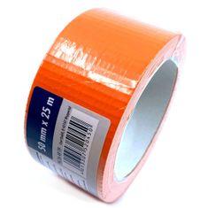 CIRET Páska stavební 25m oranžová, kaučuk.lepidlo 50mm