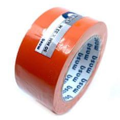 CIRET Páska lepicí plastová 33m oranžová 50mm