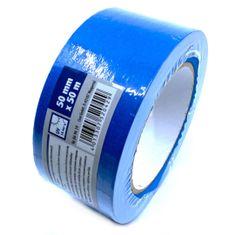 CIRET Páska lepicí papírová 50m modrá 50mm