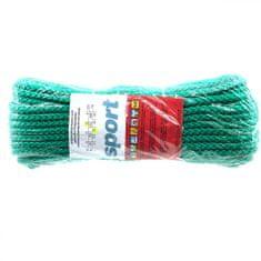 Lanex Polypropylenová šňůra pletená bez jádra barevná 20m 6mm