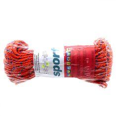 Lanex Polypropylenová šňůra pletená bez jádra barevná 20m 4mm