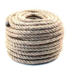 Lanex Jutové lano stáčené 20m 12mm